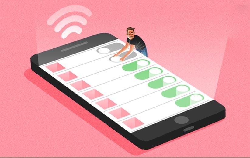 ۷ راه ساده برای کاهش مصرف اینترنت در آیفون