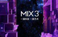 شیائومی Mi Mix 3 با ۱۰ گیگابایت رم و پشتیبانی از 5G معرفی میشود
