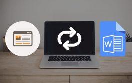 ۲ روش ساده و کاربردی برای تبدیل صفحات وب به فایل Word